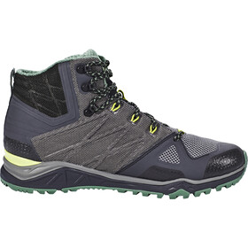 The North Face Ultra Fastpack II Mid GTX Chaussures Homme, phantom grey/lime green